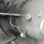 Установка пробоотборного зонда на газоходе