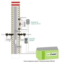 Установка газоаналитического оборудования на дымовой трубе